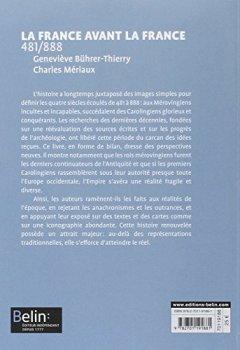 Livres Couvertures de La France avant la France 481-888- Format compact