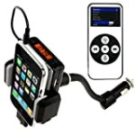 Ipod Iphone Fm Transmitter Charger Holder Car Dock Kit for $10.14 + Shipping