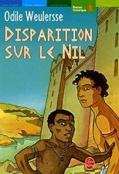 Livres Couvertures de Disparition Sur Le Nil