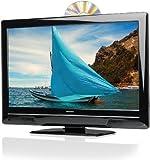 Medion Life P12070 58,4 cm (23 Zoll) LED-Backlight Fernseher, Energieeffizienzklasse C (Full-HD, DVB-T, DVD Player) schwarz