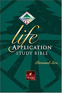 "Cover of ""Life Application Study Bible : ..."
