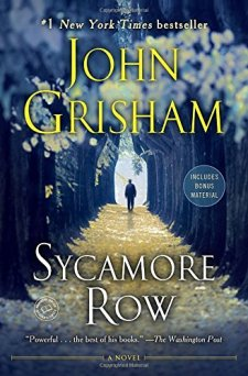 Sycamore Row: A Novel (Jake Brigance) by John Grisham| wearewordnerds.com