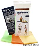 Exercise Band Kits - Rep Band 3-Pack - Non-Latex