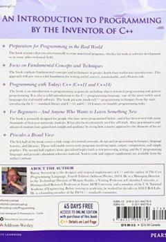 Livres Couvertures de Programming: Principles and Practice Using C++