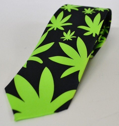 Ganja Neck Tie