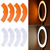 Neewer-White-and-Yellow-Color-Filter-Set-for-Neewer-600W-5500K-Dimmable-Ring-Fluorescent-Flash-Light