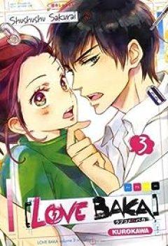 Livres Couvertures de Love Baka, Tome 3