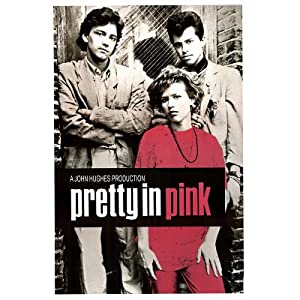 Vintage Pretty in Pink Movie (Group) Poster Print