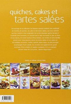 Livres Couvertures de Les bonnes saveurs - Quiches, cakes et tartes salées