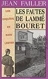 Les fautes de Lammé-Bouret