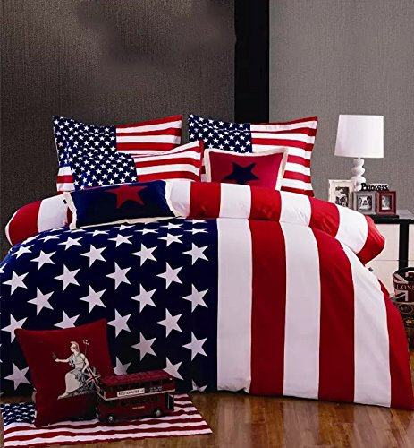 American Flag Red White Blue Comforter Amp Bedding Sets