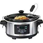 Hamilton Beach Set and Forget 6qt Slow Cooker for $49.88 + Shipping