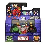 Marvel Minimates マーベル ミニメイツ - Hulk and Iron Man 2 pack ハルク&アイアンマン2【並行輸入品】