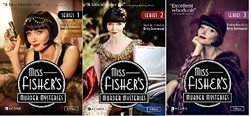 Image result for miss fisher mysteries, dvd