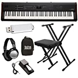 Kawai MP6 Stage Piano ESSENTIALS BUNDLE w/ Stand, Bench & Headphones