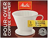 1 X Porcelain 2 Cone Brewer Coffee Maker
