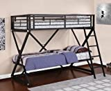 Powell Z-Bedroom Twin-Over-Twin Bunk Bed