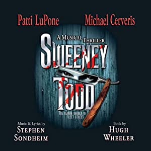 """Cover of """"Sweeney Todd (2005 Broadway Rev..."""