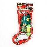 PAWZ Road Pet Cat Happy Christmas Gift Set 6 Toys 1 Package Sock Shape Cat Teaser Presents
