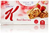 Special K Red Berries Cereal Bar, Strawberry, 12 count