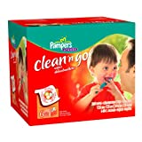 Pampers Clean 'n Go Baby Wipes