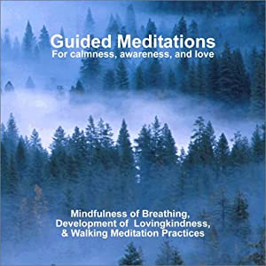 "Cover of ""Guided Meditations: For Calmnes..."