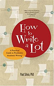 "Cover of ""How to Write a Lot: A Practical..."
