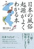 日本の風俗―起源がよくわかる本