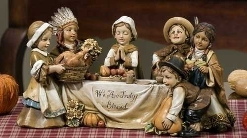 Image result for thanksgiving decorations native americans pilgrims images