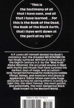 Livres Couvertures de The Necronomicon