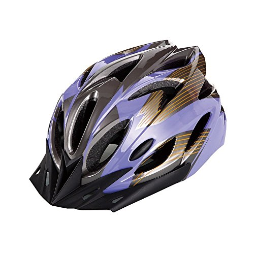 Elastic Ultralight Mens Womens Road/Mountain Bike Cycling Helmets Vented Design With 18-Hole and Detachable Visor