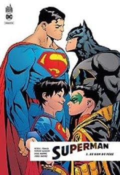 Livres Couvertures de Superman Rebirth, Tome 2 : Au Nom Du Père