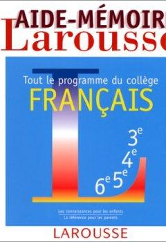 Telecharger Aide Memoire Francais Tout Le Programme Du