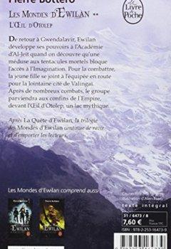 Livres Couvertures de L'Oeil d'Otolep (Les Mondes d'Ewilan, Tome 2)
