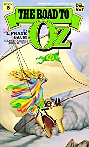 """Cover of """"Road to Oz (Wonderful Oz Books)..."""