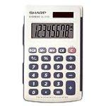 Sharp Electronics EL243SB 8-Digit Twin Powered Calculator for $5.06 + Shipping