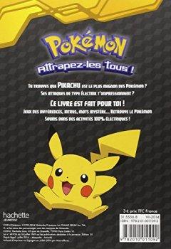 Livres Couvertures de Pokémon - Le livre d'activités de Pikachu