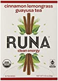 RUNA Clean Energy Organic Guayusa Tea Box, Cinnamon Lemongrass, 16-Count Tea Bags