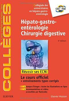Book's Cover ofHépato-gastro-entérologie - Chirurgie digestive: Réussir les ECNi