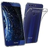 Simpeak Custodia Cover per Huawei Honor 8 in Silicone TPU Trasperante Confezione da 2