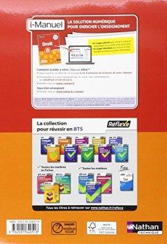 Livres Couvertures de Droit BTS 2e année - Collection Réflexe