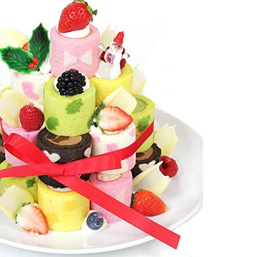 【クリスマス限定】irina イリナ ロールタワーキット 4段 ケーキ Limited クリスマスオーナメント付