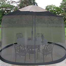 Black Outdoor Patio Screen