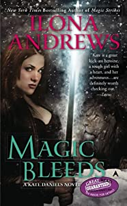 "Cover of ""Magic Bleeds (Kate Daniels, Boo..."