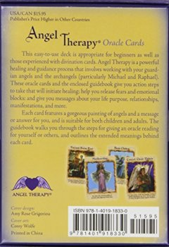 Livres Couvertures de Angel Therapy Oracle Cards