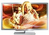 Philips 37PFL7606K/02 94 cm (37 Zoll) Ambilight 3D LED-Backlight-Fernseher, Energieeffizienzklasse A (Full-HD, 400 Hz PMR, DVB-T/C/S, Smart TV) silbergrau