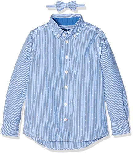 TOM TAILOR Kids Jungen Hemd Printed Shirt with Bow