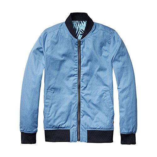 Scotch & Soda Herren Bomberjacke Reversible 16010210017