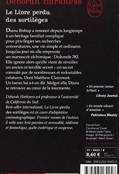 Télécharger Le Livre Perdu Des Sortilèges Pdf En Ligne Deborah Harkness