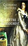 La lettre a alexandrine